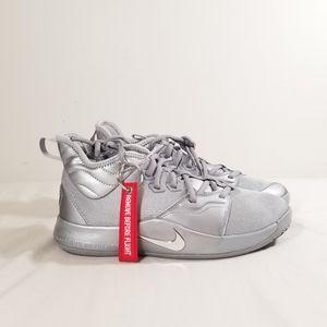 "Nike Paul George 3 NASA Apollo ""Reflect Silver"" 50"